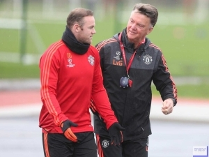 Wayne Rooney we are